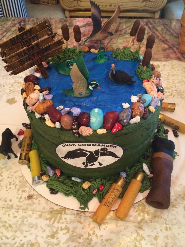 Duck Commander Birthday Cakes