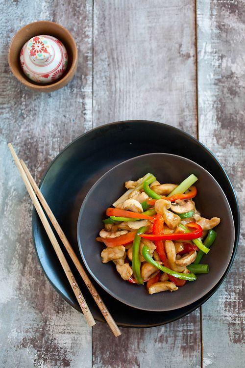 Bell Pepper Chicken by rasamalaysia #Chicken #Pepper
