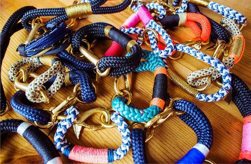 Nautical inspired jewelry.