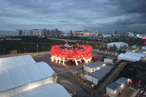 Coca-Cola Unveils A Building That Can Be Played Like A Musical Instrument - DesignTAXI.com