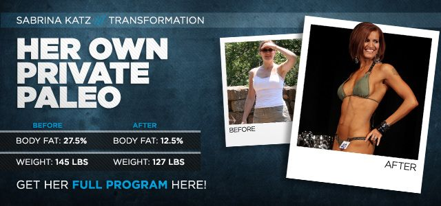 Body Transformation: Her Own Private Paleo