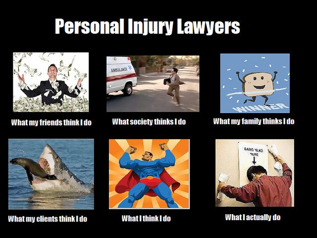 The Truth About Personal Injury Lawyers Lawyer Humor