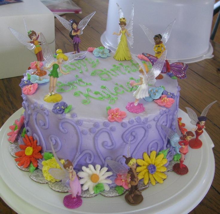 Tinkerbell Birthday Cake  Birthday theme ideas  Pinterest