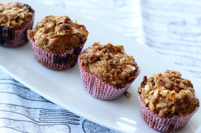 ... : Gluten Free Blueberry Coconut Muffins with Coconut Streusel Topping