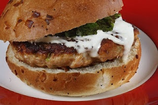 Greek lamb burger | Diet ideas/Healthy snacks | Pinterest