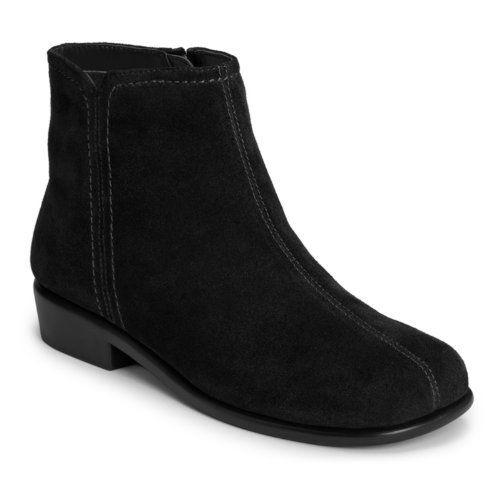Aerosoles Women's Duble Trouble Boot Suede Rubber sole Shaft measures