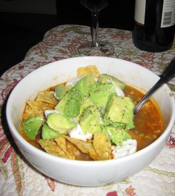 Mexican Tortilla Soup | Winter food | Pinterest