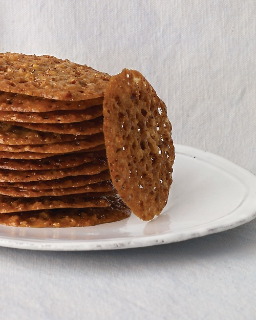 ... offer lace cookies. Johns Pecan-Lace Cookies - Martha Stewart Recipes