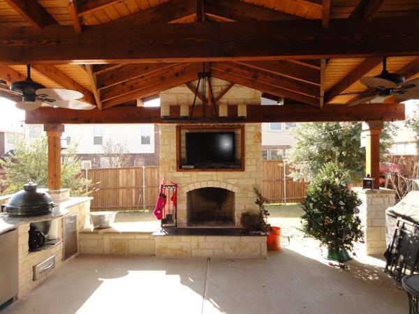 Good ideas outdoor kitchen amp living pinterest