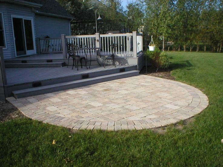 Semi circle taking it outside pinterest for Circular lawn garden designs