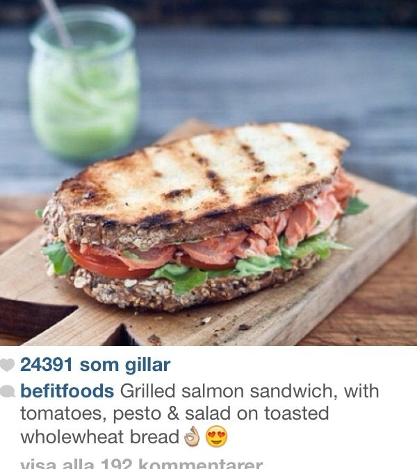 Grilled salmon sandwich   Food: Fish Dishes   Pinterest