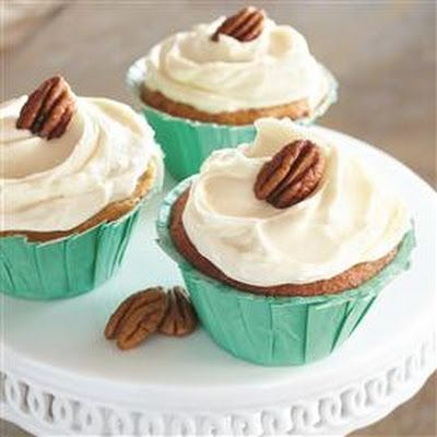Brown-Butter Cupcakes with Cream Cheese Frosting