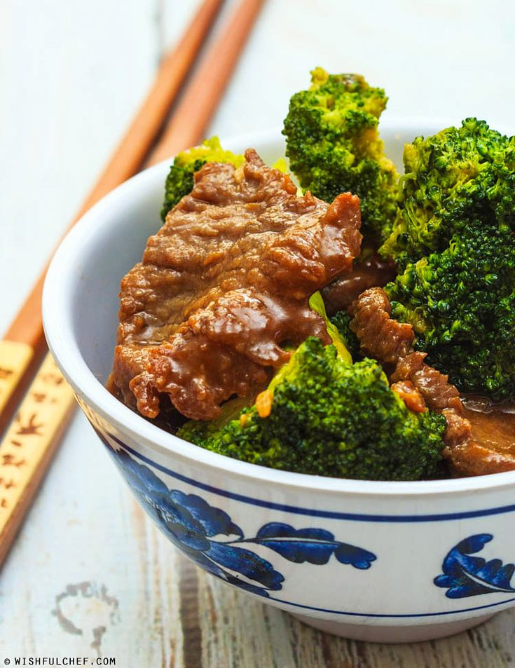 Easy Beef and Broccoli Stir Fry // wishfulchef.com #Chinese #Asian # ...