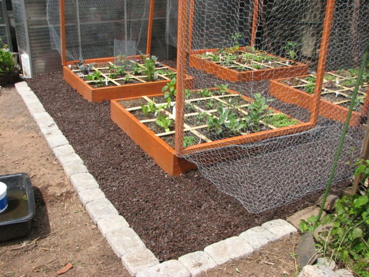 stone and raised bed gardens GARDENING Pinterest