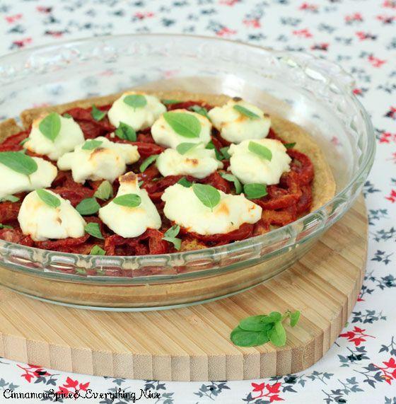 Tomato and Ricotta Tart | Recipe