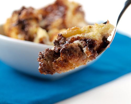 Raspberry Nutella Bread Pudding | Sweet heaven in my mouth | Pinterest