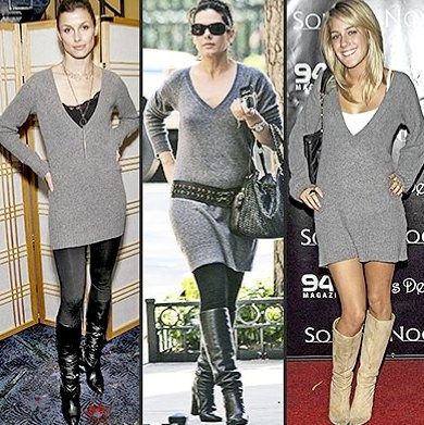 Sweater Dress on Sweater Dresses And Boots    My Closet