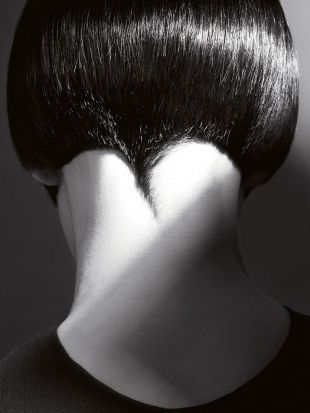 Short Wedge Haircuts for Women Back View