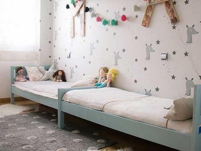 tempat tidur anak perempuan home interior collection