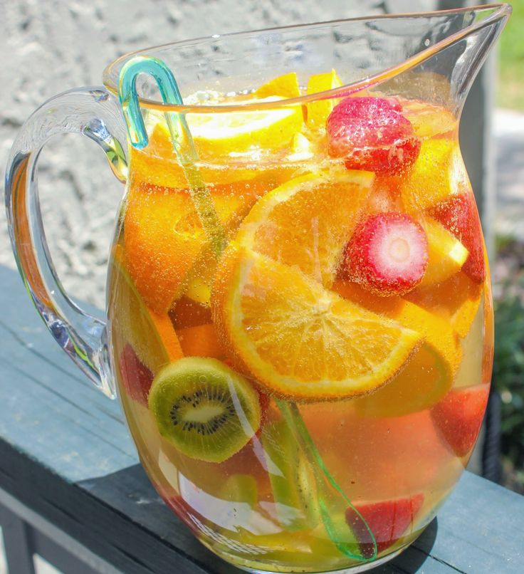 Cava Sangria Recipe — Dishmaps