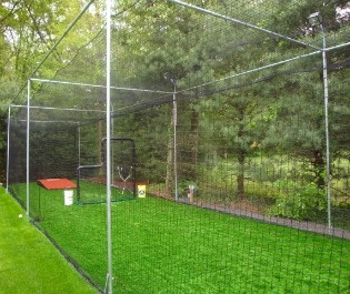 backyard batting cage my house will have pinterest