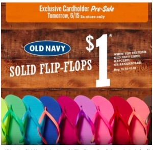 Old Navy: $1.00 Flip Flops for Old Navy, Gap and Banana Republic ...