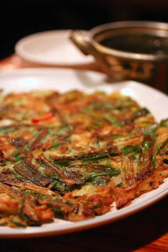 haemul pajeon, korean scallion pancake | Asian Food & Recipes | Pinte ...