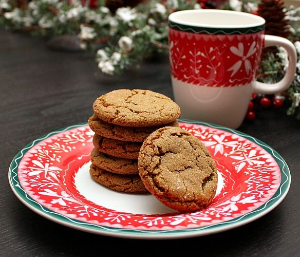 APPLE A DAY: Molasses Spice Cookies | Cookies I Might Love | Pinterest