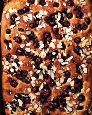 Cherry-Almond Focaccia Skip the scones and biscuits for brunch; serve ...