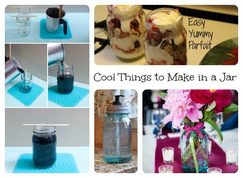 Cool things to make in a jar fund raising crafts pinterest
