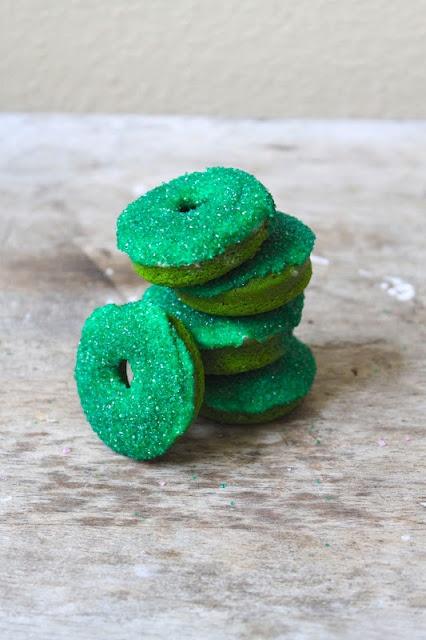 Green Velvet Baked Sprinkle Donuts Recipes — Dishmaps