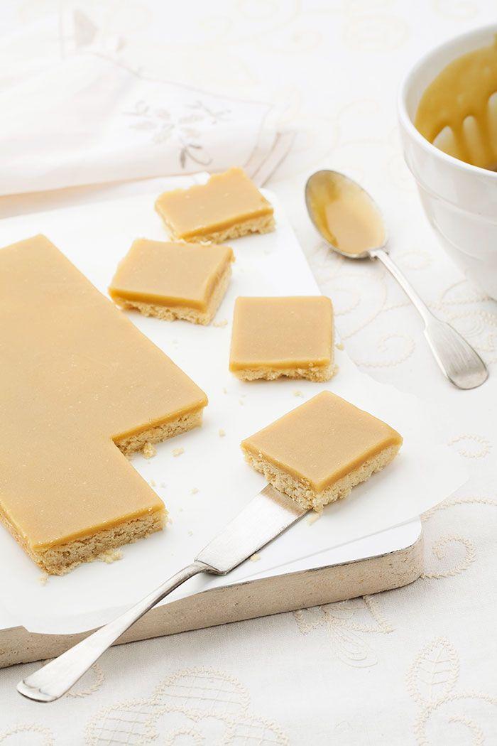 Gluten-free Ginger Crunch Slice   Recipe