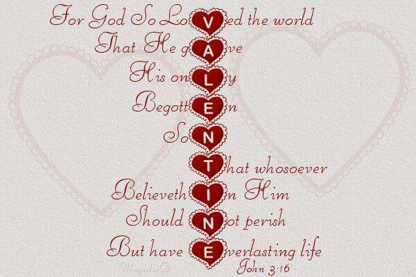valentine quotes from god