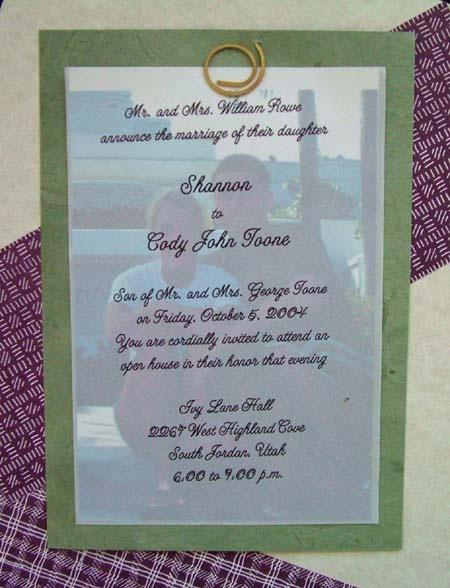 Vellum Invitations was luxury invitation layout
