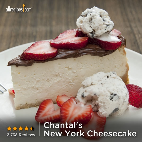 ... New York Cheesecake) http://allrecipes.com/recipe/chantals-new-york