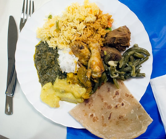 Party like a burundian a burundian dowry party wedding for Angie s african cuisine