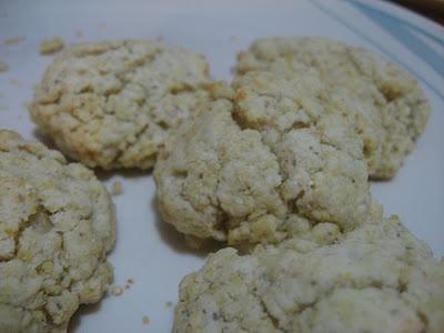 gluten, egg, sugar free Baking powder biscuits