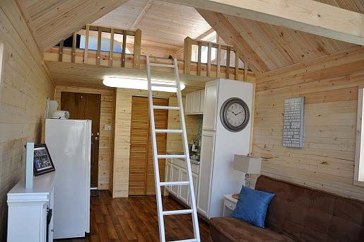 Small boat houses with loft joy studio design gallery for 10x20 tiny house floor plans
