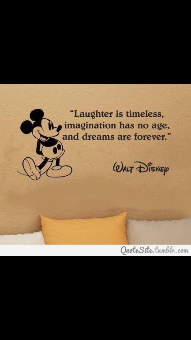 Love a Disney quote.