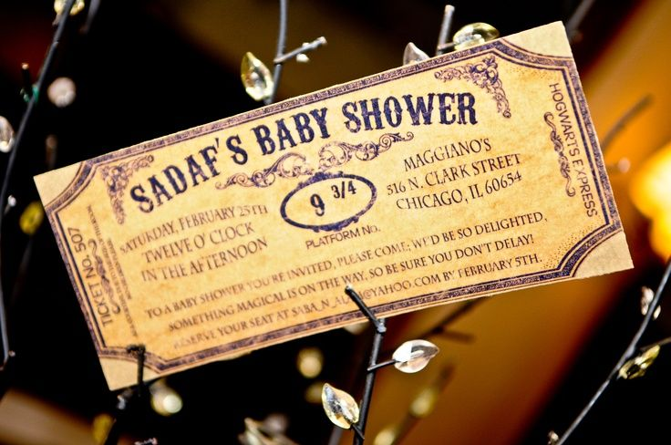 Harry Potter Baby Shower Invitations is the best ideas you have to choose for invitation example