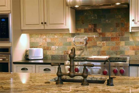 country kitchen backsplash home sweet home pinterest