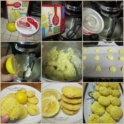 LEMON COOL WHIP COOKIES Well they ate more this time, I guess it was a ...