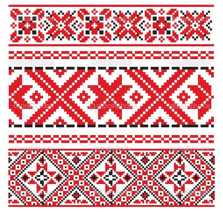 Узоры в украинских вышивках 19