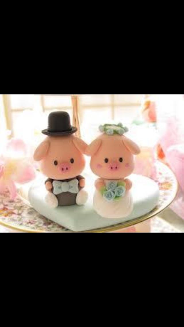 Wedding cake pigs! | Piggies!!! | Pinterest