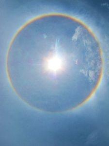 Rings In Sun Rays