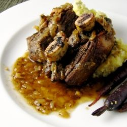 Coffee Braised Bison Short Ribs | delicious | Pinterest