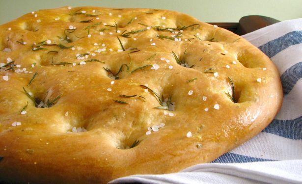 Rosemary Focaccia Bread | Focaccia | Pinterest