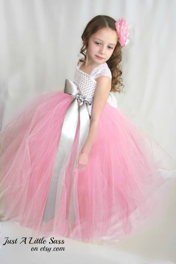 Flower girl dresses pink and silver amore wedding dresses flower girl dresses pink and silver mightylinksfo Gallery