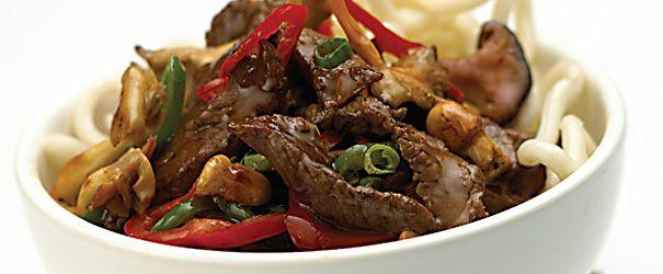 Wild Mushroom And Beef Stir-Fry Recipe — Dishmaps