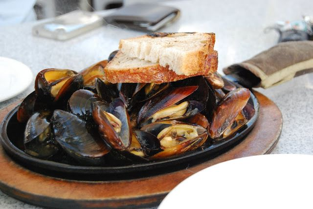 George's @ The Cove ~ grilled mussels | Great Food, Wine & Beer | Pin...